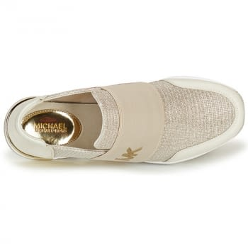 MICHAEL KORS zapato topolino elástica champagne - 6