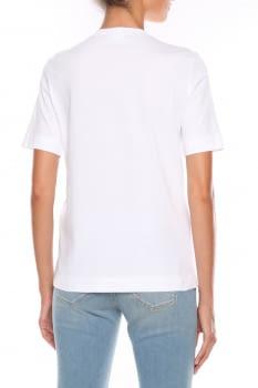 LOVE MOSCHINO camiseta blanca con logo y corazón - 2