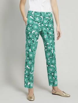 PENNYBLACK pantalón estampado verde - 1