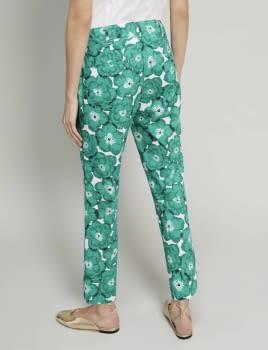 PENNYBLACK pantalón estampado verde - 2