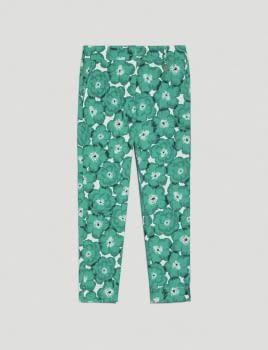 PENNYBLACK pantalón estampado verde - 4