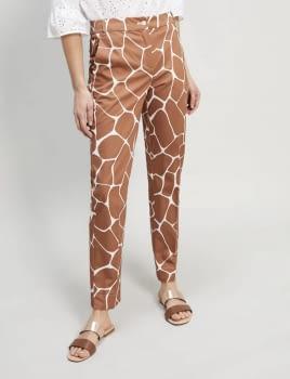 PENNYBLACK pantalón estampado girafa