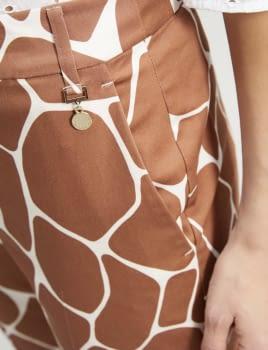 PENNYBLACK pantalón estampado girafa - 3
