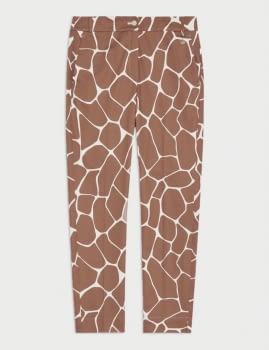 PENNYBLACK pantalón estampado girafa - 4