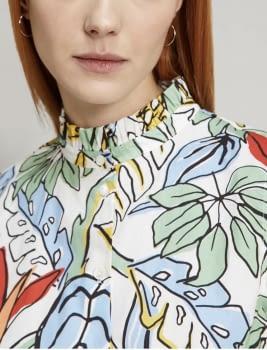 PENNYBLACK camisa sin mangas estampado tropical - 2