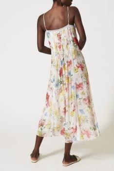 TWINSET vestido largo estampado multicolor - 2
