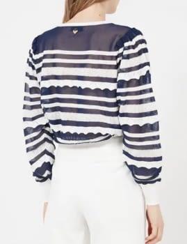 TWINSET jersey con rayas marineras - 2