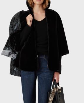 EMPORIO ARMANI chaqueta gris/negro logotipo - 6