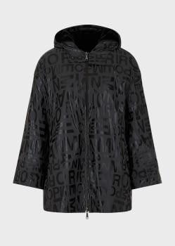 EMPORIO ARMANI chaqueta gris/negro logotipo - 8