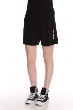 LOVE MOSCHINO short negro logotipo
