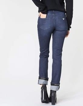 EMPORIO ARMANI jeans con logo - 2