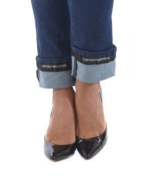 EMPORIO ARMANI jeans con logo - 3