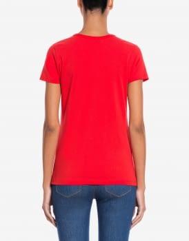 LOVE MOSCHINO camiseta roja strass - 2