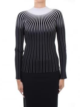 EMPORIO ARMANI jersey gris y negro - 1