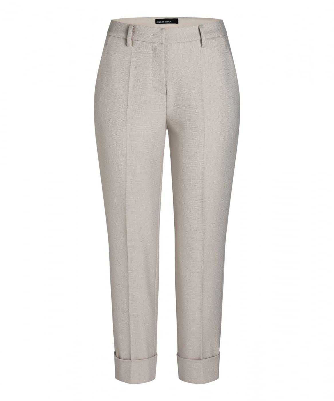 CAMBIO pantalón lana color crudo