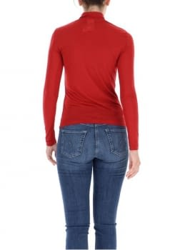 PENNYBLACK jersey cuello alto color rojo - 2