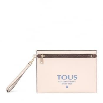 TOUS clutch essential rosa - 1