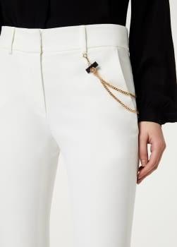 LIU.JO pantalón bootcut blanco - 2