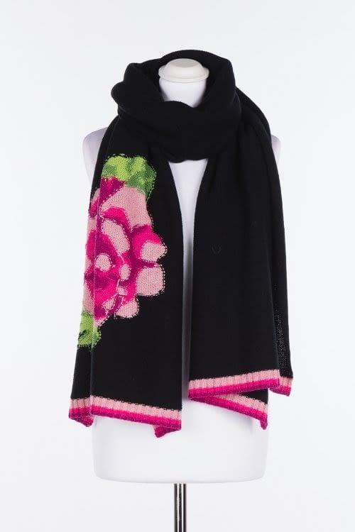 TWINSET bufanda lana con bordado