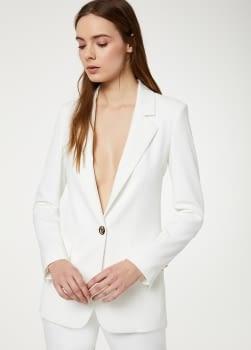 LIU.JO blazer largo blanco