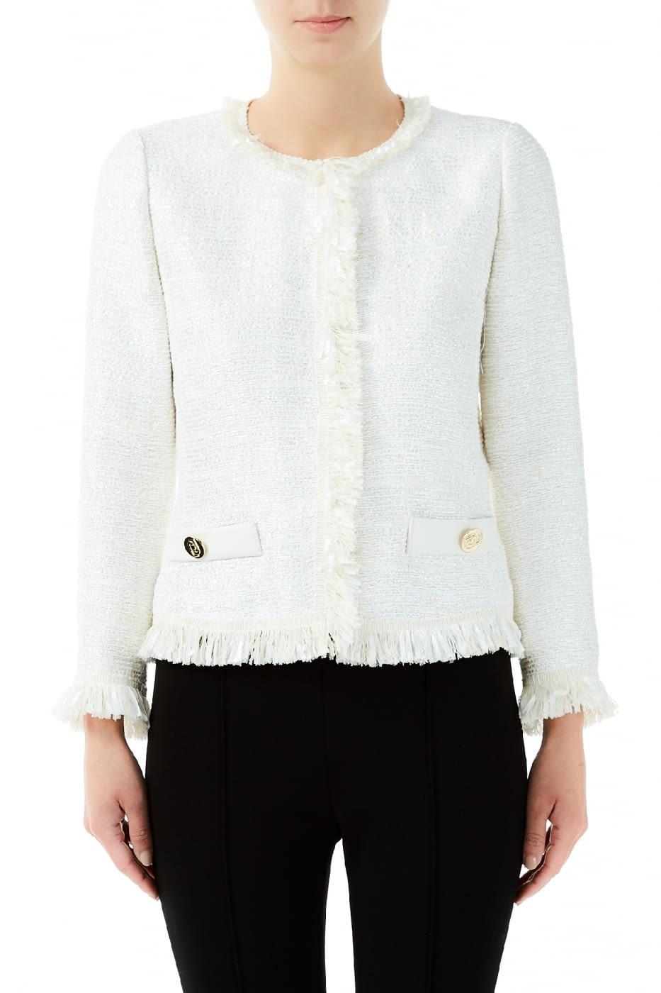 LIU.JO chaqueta chanel color natural