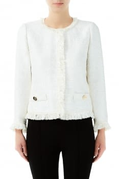 LIU.JO chaqueta chanel color natural - 1