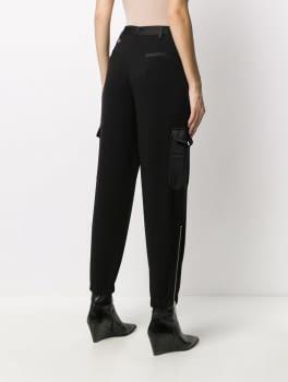 TWINSET pantalón jogging negro