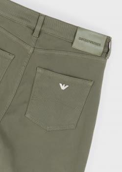 EMPORIO ARMANI pantalón 5 bolsillos color caqui - 4
