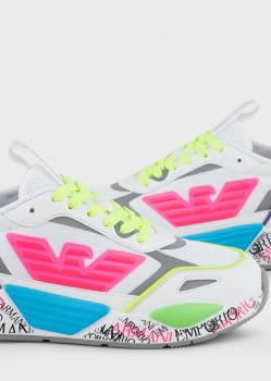 EMPORIO ARMANI sneakers colores - 2