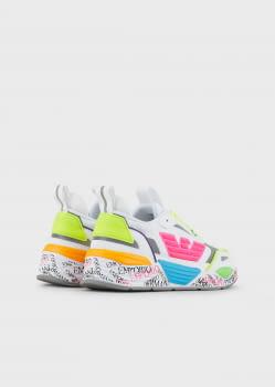 EMPORIO ARMANI sneakers colores - 4