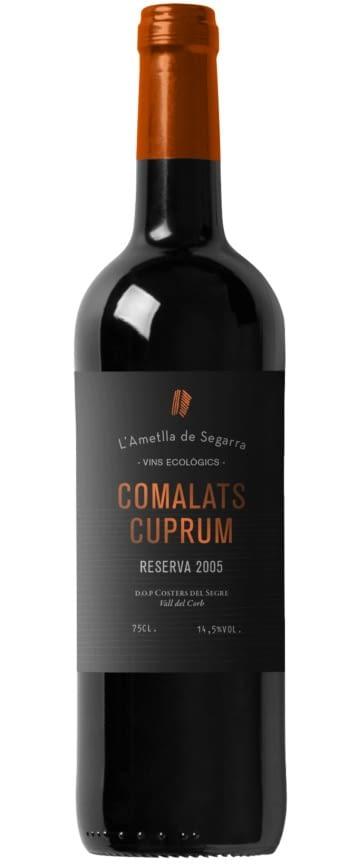 Comalats Cuprum Reserva 05 Negre 75 cl