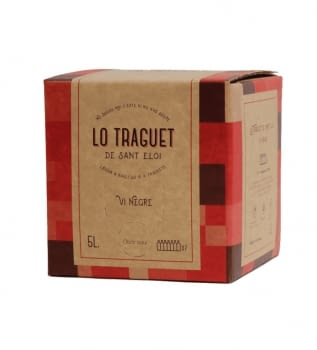 Lo Traguet Negre 12º Bag in Box 5 lt