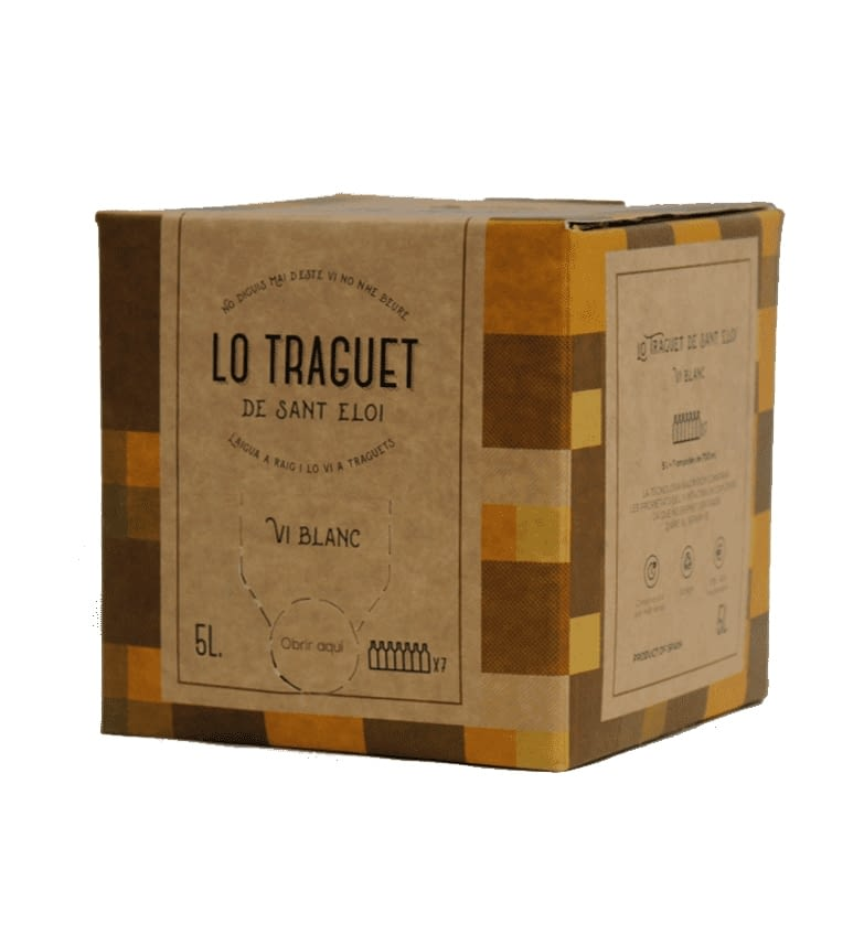 Lo Traguet Blanco 11º Bag in Box 5 lt