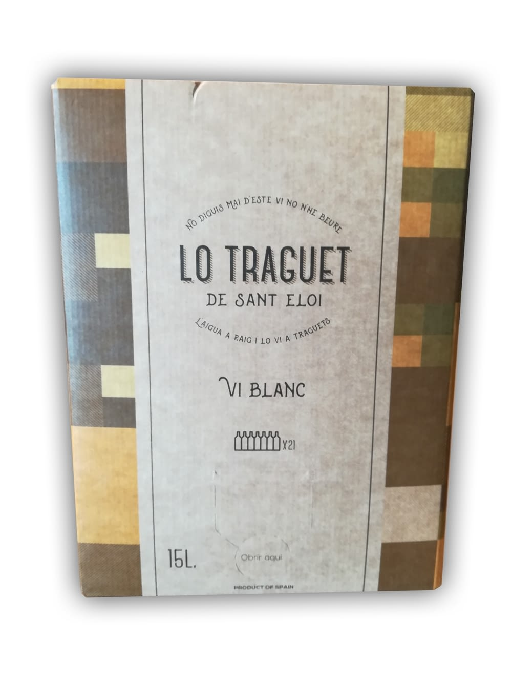 Lo Traguet Blanc 11º Bag in Box 15 lt