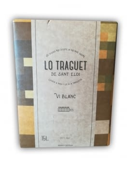 Lo Traguet Blanco 11º Bag in Box 15 lt