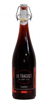 Lo Traguet vermut ampolla tap mecànic 75 cl.