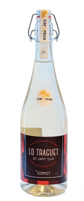 Lo Traguet vermut blanc ampolla tap mecànic 75 cl