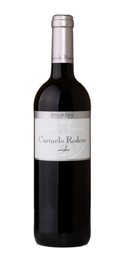 Carmelo Rodero Roble 9 meses Tinto 75 cl