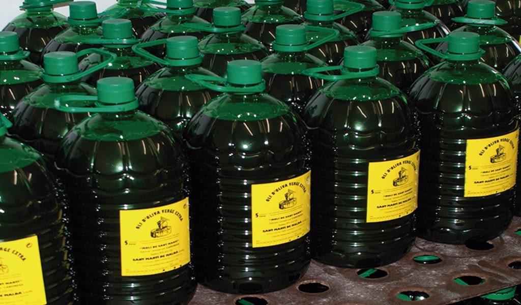 Palet aceite