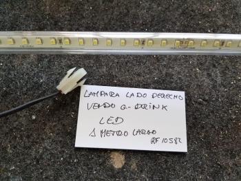 LAMPARA LADO DERECHO VENDO G-DRINK 1m largo