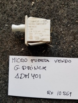 MICRO PUERTA VENDO G-DRINK