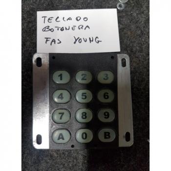 TECLADO BOTONERA FAS YOUNG