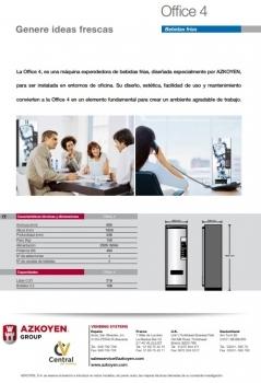 MAQUINA VENDING DE BEBIDAS FRÍAS AZKOYEN OFFICE 4 - 4