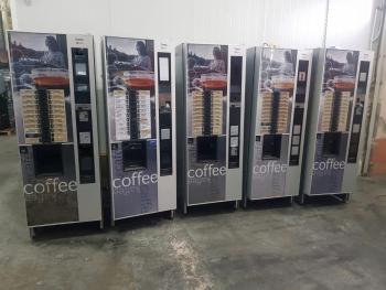 MAQUINA EXPENDEDORA VENDING DE CAFE NECTA CANTO SOLO PROFESIONALES