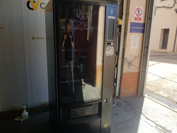 MAQUINA EXPENDEDORA VENDING AZKOYEN PALMA H70 SIN FRÍO - 2