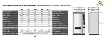MAQUINA VENDING PARA AGUAS  Y LATAS AZKOYEN PALMA B6 - 4
