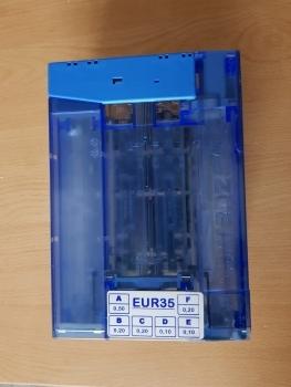 CARTUCHO DE MONEDAS PARA MONEDERO CURRENZA C2 BLUE (EUR35) - 2