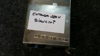 ENTRADA 220V CAFETERAS BIANCHI