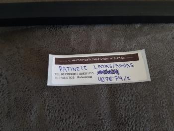 PATINETE LATAS Y AGUAS VENDO G-SNACKS - 3