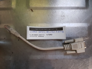 CABLE DATOS RS 232 A R545